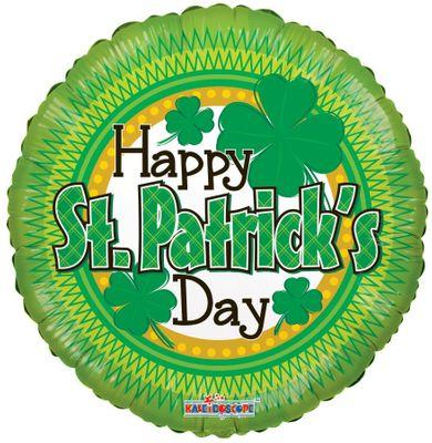 St Patricks Day Shamrock Balloon