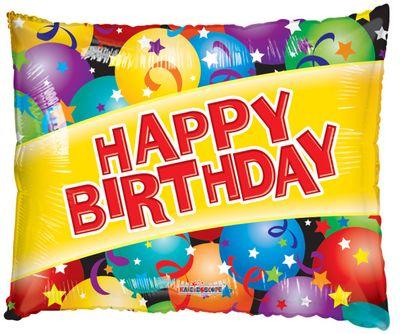 Happy Birthday Supershape Balloon