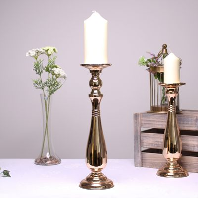 Gold Candle Holder (42.5cm)