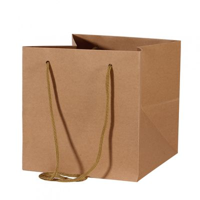 Kraft Hand Tied Bag (25cm)