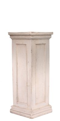 Cream Frost Proof Garden Pedestal (75cm)