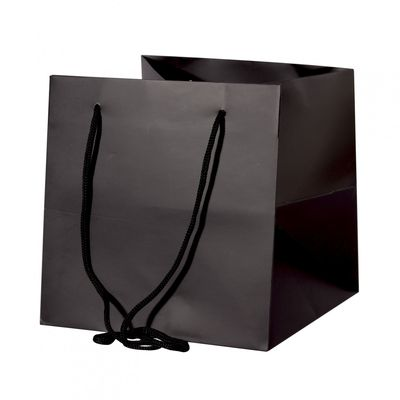 Black Hand Tied Bag (25cm)