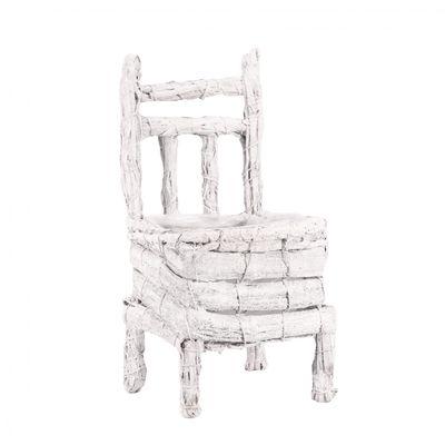 White Chair Planter (30cm)