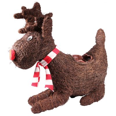 Salim Lying Moose Planter (50cm)