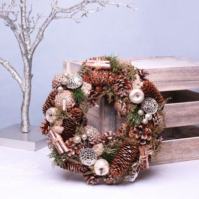 Golden Fruits Wreath (30cm)