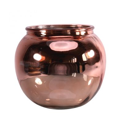 Mercury Rose Gold�Bubble Bowl (15.5cm)