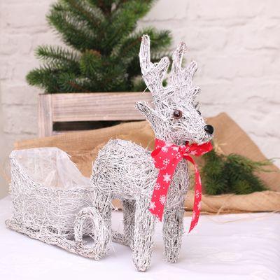 Salim Reindeer Sleigh Planter (35cm)