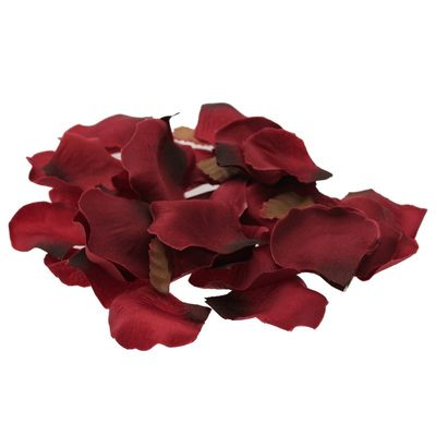Burgundy Rose Petal Confetti