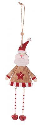Hanging Santa Decoration (32cm)