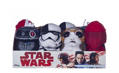 Assorted Star wars Soft Toys