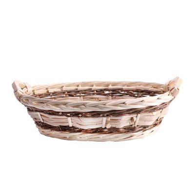 Oval Two Tone Tray 38cm