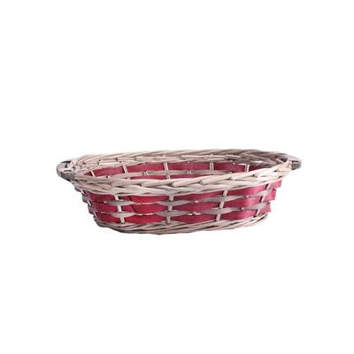Red Oval Two Toned Tray 38/42cm