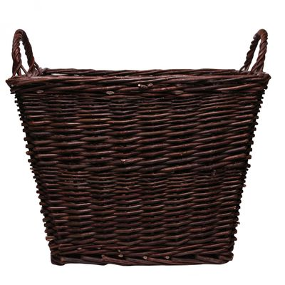 Brown Square Basket With Ears 45cm