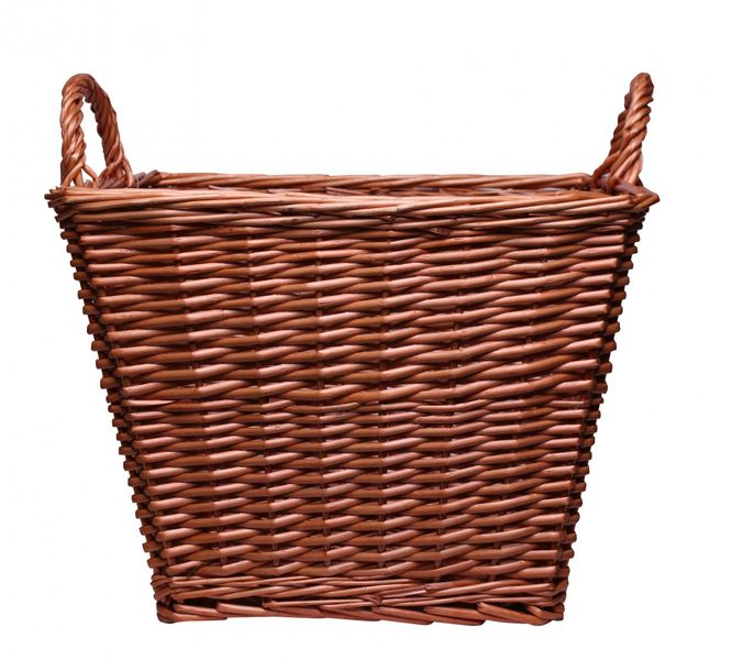 Natural Square Basket With Ears 45cm