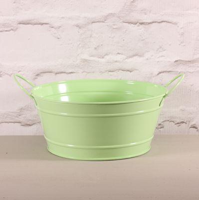 Green Round Zinc Bowl 8.5cm