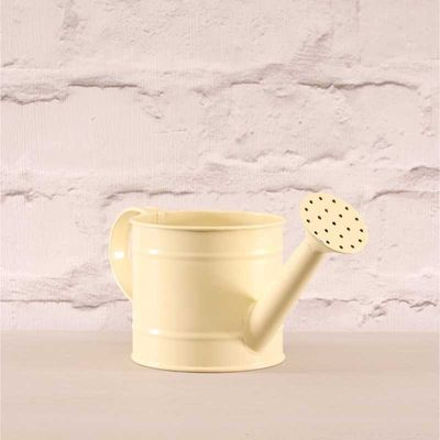 Small Cream Watering Can 10cm