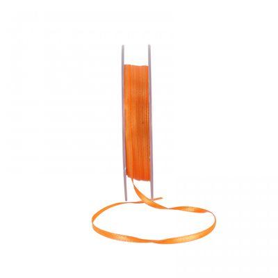 Orange Satin Ribbon 3mm