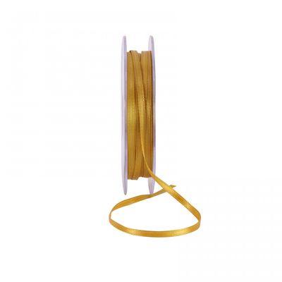 Bright Gold Satin Ribbon 3mm