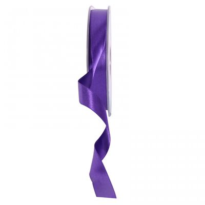 Dark Purple Satin Ribbon 15mm