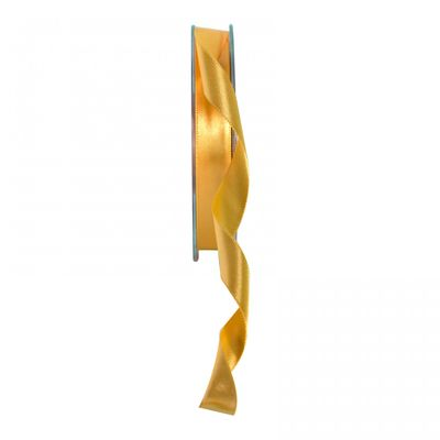 Bright Gold Satin Ribbon 15mm