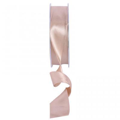 Beige Satin Ribbon 25mm