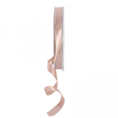 Beige Satin Ribbon 10mm