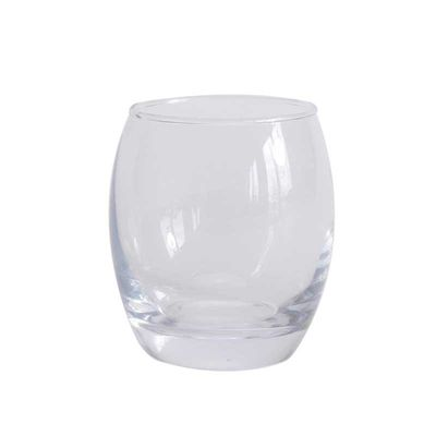 Large Roly Poly Candle Votive 8cm
