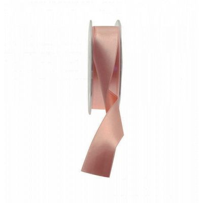 Rose Gold Satin Ribbon 25mm