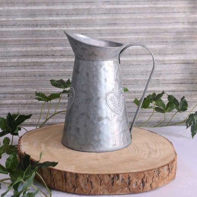 Washed Zinc Jug