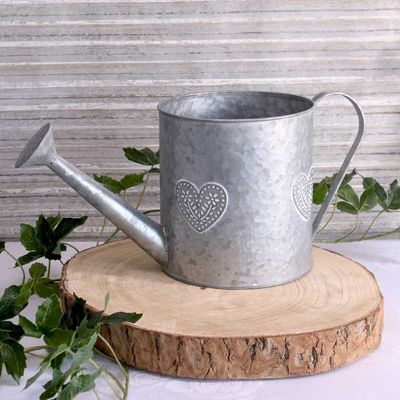 Washed Zinc Watering can