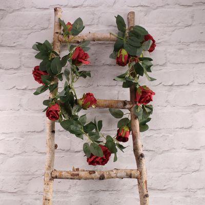 Red Rose Garland (175cm)