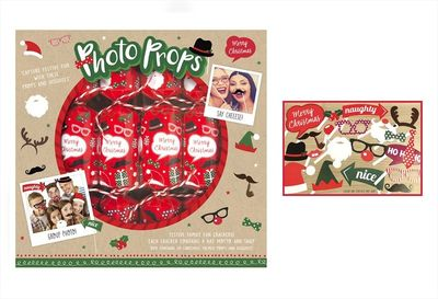 6 Photo Props Game Crackers