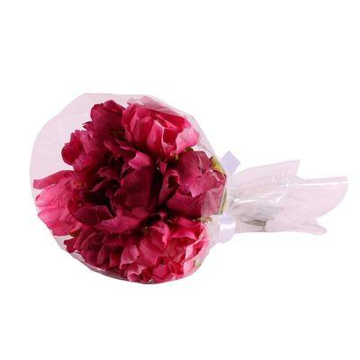 30cm Fuschia Peony Bouquet