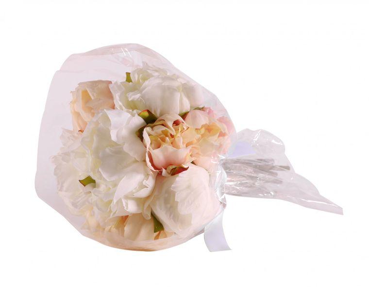 30cm Ivory Peony Bouquet