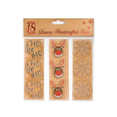 Kraft Christmas Gift Tags