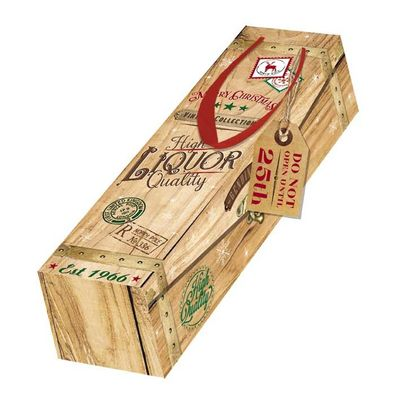 Xmas crate Bottle Box