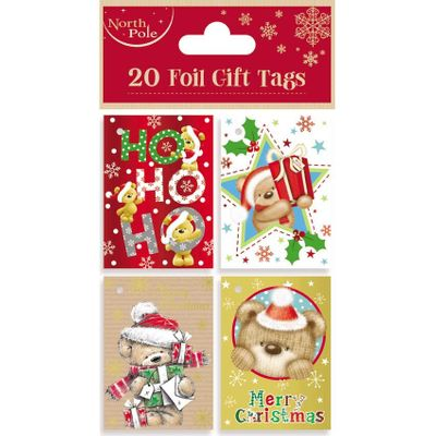 Teddy Booklet Gift Tags