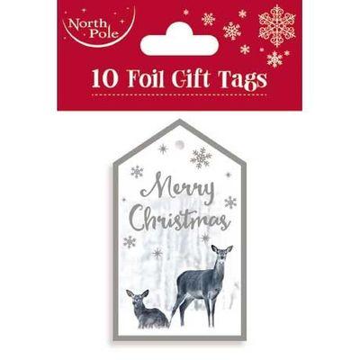 Snowscene Gift Tags