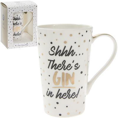 Shh theres gin mug
