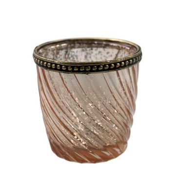 Rose Gold Swirl Tealight holder