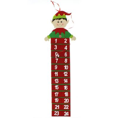 Wall Hanging Elf Advent Calendar