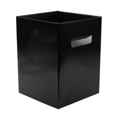 Pearlised Black Flower Box