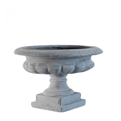 Grey Moderna Frost Proof French Urn (45cm)