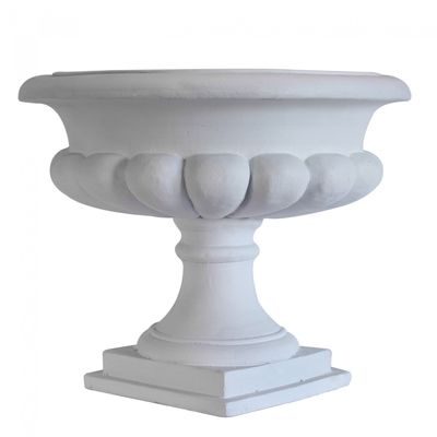 Cream Moderna French Urn Frost Proof (56cm)