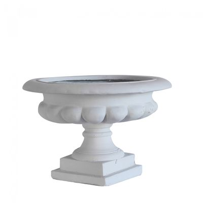Cream Moderna Frost Proof French Urn (45cm)