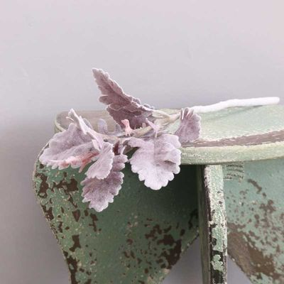 Dusty Miller Spray Burgundy