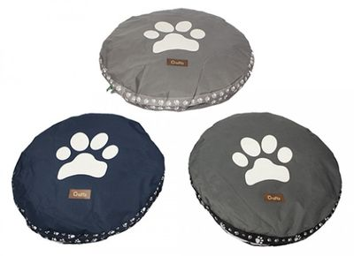 Crufts Large Round Platform Bed 85Cm W/Hang Tag 3Asstd