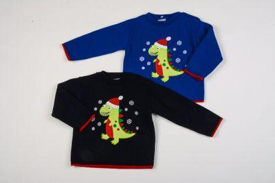 Christmas Dino Jumper