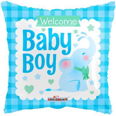 Baby Boy Elephant Balloon