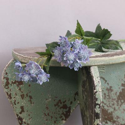 Blue Astrantia Flower Blue 51cm
